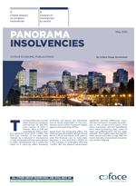 Business insolvencies in Franch Panorama Coface April 2015