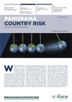 New Coface panorama country risk world update