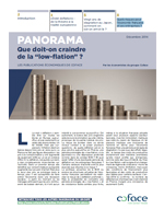 Nouveau Panorama Coface Low Flation focus en France