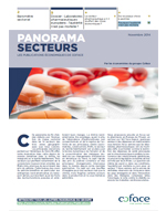 Panorama sectoriel Coface zoom sur le pharmaceutique